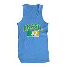 Brasil Rio de Janeiro Brazil Amazon Joga Carnaval Samba Futbol Mens Tank Top