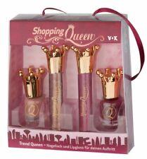 Shopping Queen Beauty Geschenkset Trend Nagellack und Lipgloss 4 Stück
