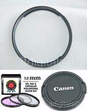 For Canon Powershot SX40 HS Filter UV CPL FLD Kit Set + Adapter Ring + Lens Cap