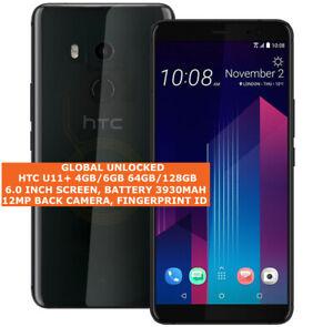 """HTC U11+ 4gb/64gb 6gb/128gb Octa-Core 12mp Fingerprint 6.0"""" Android Smartphone"""