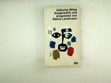 Salcia Landmann - Jüdische Witze  - 1964