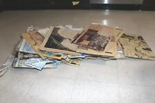 Vintage DNR Map Lot Indiana and More Lakes 1950s Topographical Contour Fishing