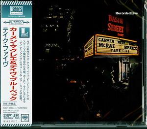 CARMEN MCRAE DAVE BRUBECK-TAKE FIVE-JAPAN BLU-SPEC CD2 D73