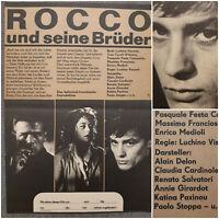ROCCO & SEINE BRÜDER | 1978 Kino Plakat Poster A2 | Delon Cardinale Visconti