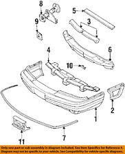Pontiac GM OEM Bonneville Bumper Face-Foam Impact Absorber Bar Left 22098665
