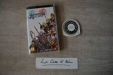 Dissidia Final Fantasy sur PSP - sans notice FR