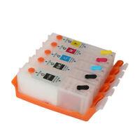 For CANON PIXMA TS6251 TR7550 TR8550 refillable ink cartridge PGI-580 CLI-581 5C