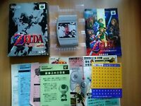 N64 Legend of Zelda: Ocarina of Time (Japan Ver.) COMPLETE IN BOX NINTENDO 64