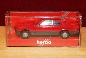 Herpa Mercedes Benz Coupe 560 Dry Wine Red New Box 1/87