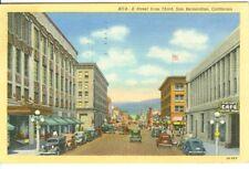 San Bernardino CA Martha's Cafe on E Street  1949