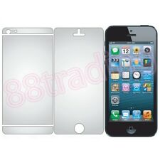 5 x Apple iPhone 5S FULL Front LCD Screen Protector + 5 x BACK COVER Film