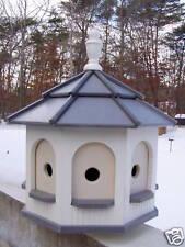 Poly Amish Gazebo Birdhouse Post Mount Yard Lg