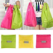 Large folding shoppingbag Storage Tote Handbag Eco Friendly nylon bags