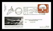 DR JIM STAMPS US SPACE SHUTTLE TRAINING EVENT COVER 1976 PICTORIAL CANCEL