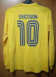 Brondby #10 Ericsson original Adidas home shirt jersey 06-07-08 seasons Size S-M