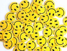Mini Smile Face Buttons (48 per order)