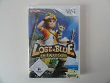 Lost IN BLUE SHIPWRECKED (WII-WII U) NUOVO OVP tedesco ***