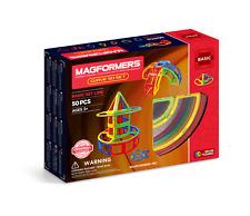Genuine Authentic MAGFORMERS Curve 50 pcs 3D Magnetic building construction
