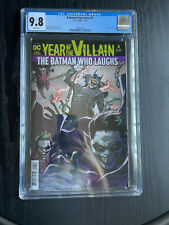 Batman Superman 4 YOTV Acetate cover CGC 9.8 2020 Batman Who Laughs!