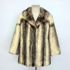 0b3db00d895093 Cappotti e giacche da donna multicolore in pelliccia taglia 44 ...