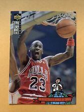 1994-95 Upper Deck Collector's Choice #402 Michael Jordan Silver Signature Card