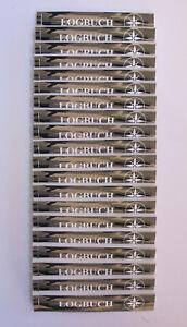 20 x Geocaching Logbuch für Petlinge, Camouflage, Logbücher