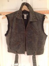 Women's Lucidity XL Black Leather Vest