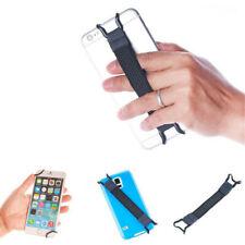 2PCS Universal Mobile Phone Pad Holder Finger Grip Elastic Bracket Strap Black
