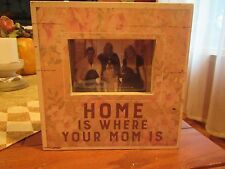"Primitives by Kathy Wooden Box Frame ""Home Is Where Your Mom Is"""