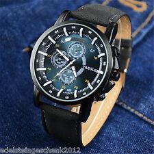 GS Herren Uhr Watch Armbanduhr Quarzuhr Analoguhr Sportuhr Nachtleuchtend M13761