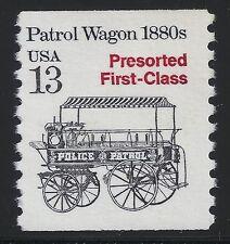 US Scott #2258, Single 1988 Patrol Wagon 1880s 13c VF MNH