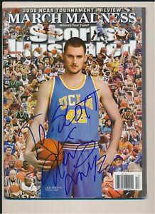 Kevin Love UCLA Autograph Sports Illustrated Magazine *1304