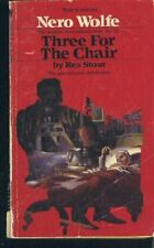 B002J3H65I Three for the Chair (The Rex Stout Library: a Nero Wolfe Mystery) ,1