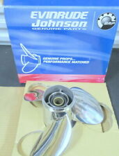 Evinrude Johnson OMC 763952 Stainless Steel Propeller OEM New Factory Boat Parts