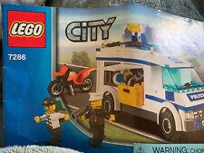 Lego Prisoner Transport (7639) Police Transport With Motorcycle