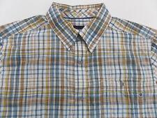 Marmot Asheboro Plaid S/S Shirt Mens Nylon Blend Retail $60 Large