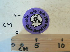 STICKER,DECAL GOGO KING OF THE ROAD BROMFIETS BROMMER MOPED MOFA