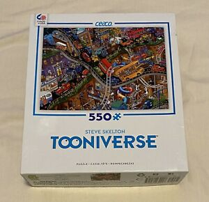 CEACO Steve Skelton's Tooniverse Moving Parts 550 Piece Jigsaw Puzzle