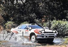 Carlos Sainz  SIGNED 12x8  Toyota Celica Turbo 4WD , Rally Safari 1992
