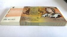 1979 Australia $1 One dollar Knight / Stone paper Banknote
