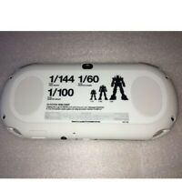 PS Vita Gundam Breaker Starter Pack Console Sony Playstation White PCHL-60001