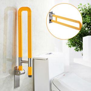 Toilet Grab Bar Safety Frame Bathroom Handrail Yellow Short style 600x80x200mm