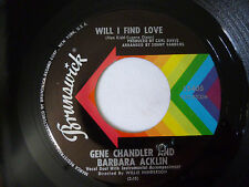 GENE CHANDLER & BARBARA ACKLIN ~ LITTLE GREEN APPLES ~ VG+ 1969 US SOUL VINYL 7""