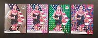2019-20 Panini Mosaic STEPH CURRY USA #260 Lot Pink, Green & Blue Reactive Prizm