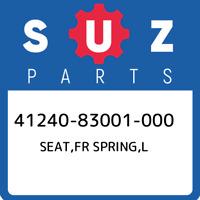 41240-83001-000 Suzuki Seat,fr spring,l 4124083001000, New Genuine OEM Part