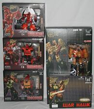 transformers unique toys warlord complete set mib