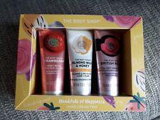 The Body Shop Handfuls of Happiness Hand Cream Trio 3x 30g