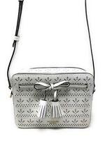 Kate Spade Hayes Camera Bag Bright White Leather Crossbody Handbag WKRU5949 $279