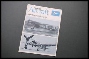 AIRCRAFT Profile Publications No.94 Focke-Wulf FW 190D/Ta152 Aviation Series