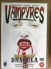 Marriane Moris VAMPYRES ~ 1974 Jose Ramon Larraz Cult Vampire Horror UK DVD